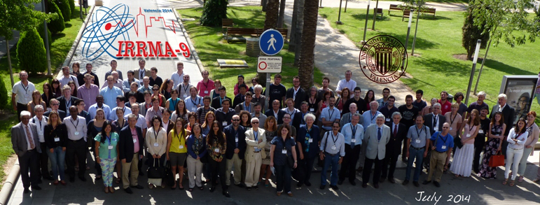 Presentations at IRRMA9 in Valencia (July 6-11, 2014)