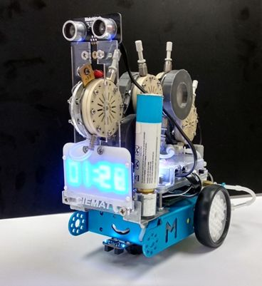 Mobile Robot, (Arduino board, bluetooth connectivity)